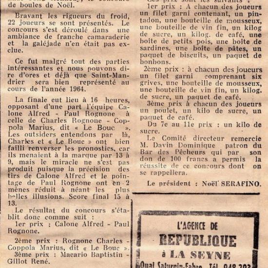 1963-26-DECEMBRE-CONCOURS DE NOËL